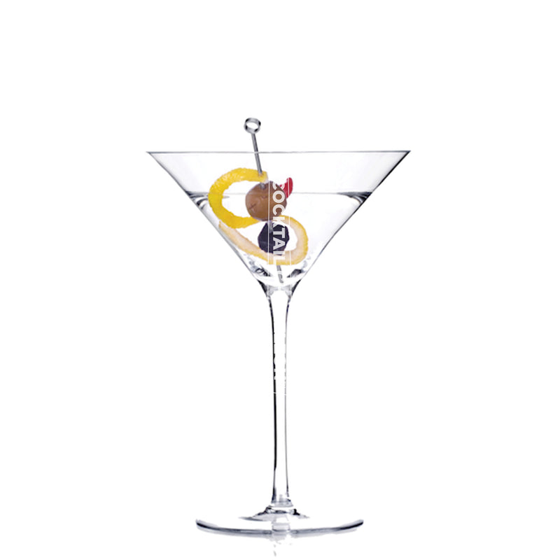 Limited Edition Cocktail Portrait: Classic Martini watermarked image
