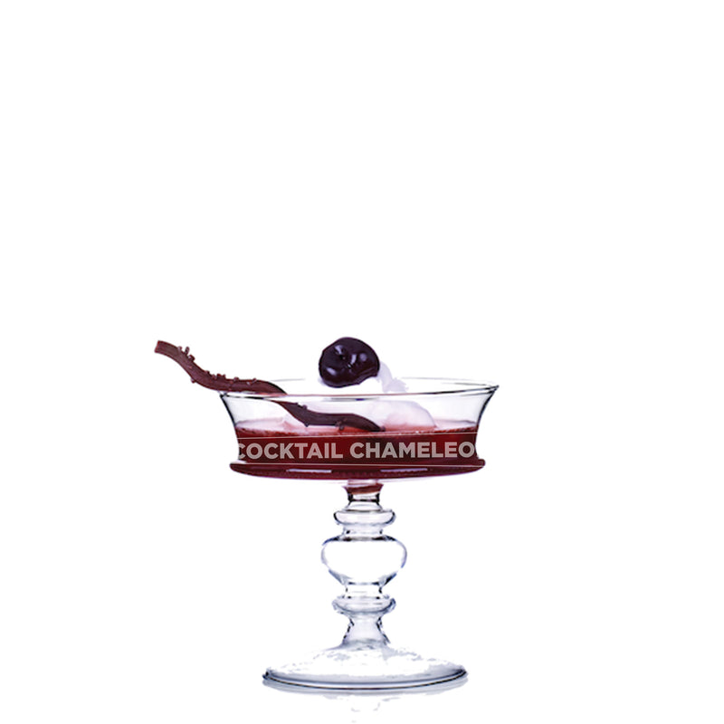 Limited Edition Cocktail Portrait: Black Forest watermarked image