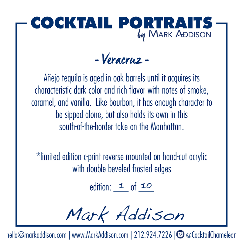Limited Edition Cocktail Portrait: Veracruz signature plate