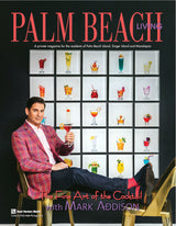Mark Addison on the cover of Palm Beach Living