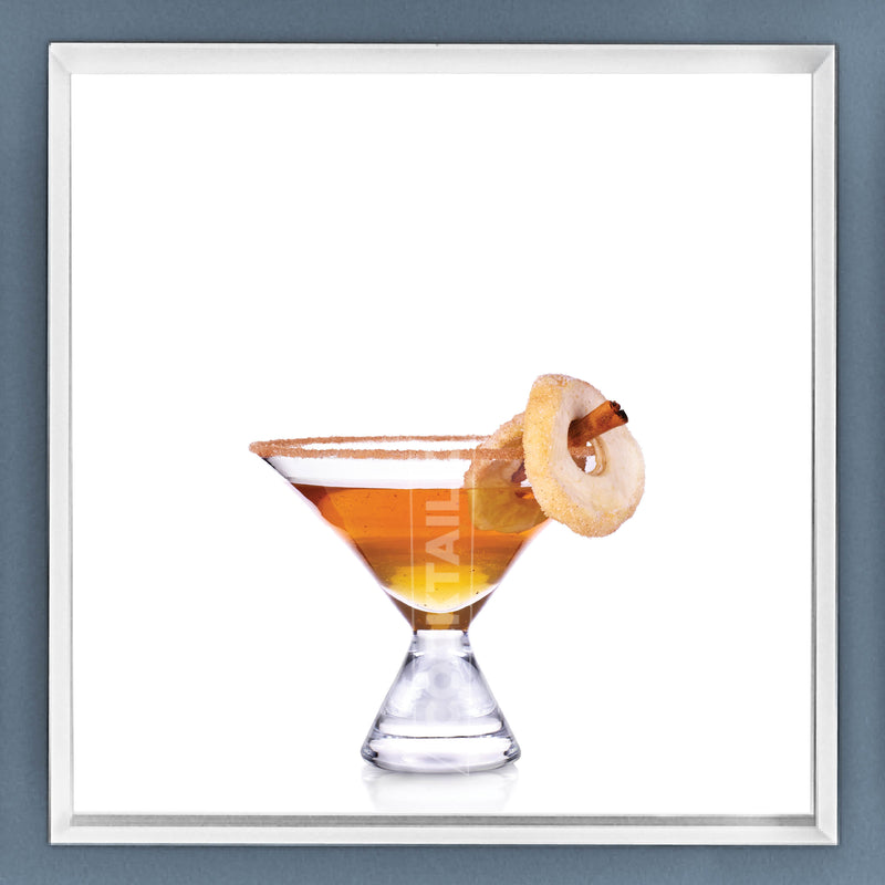 Limited Edition Cocktail Portrait: Baked Apple framed image