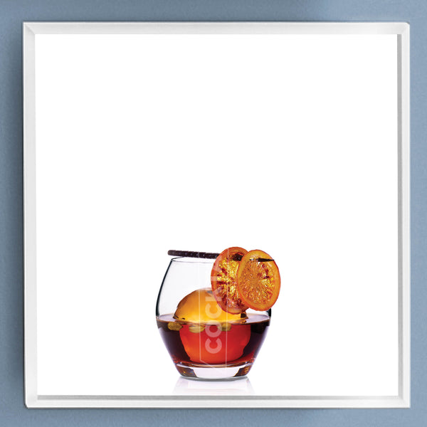 Limited Edition Cocktail Portrait: Bombay framed image