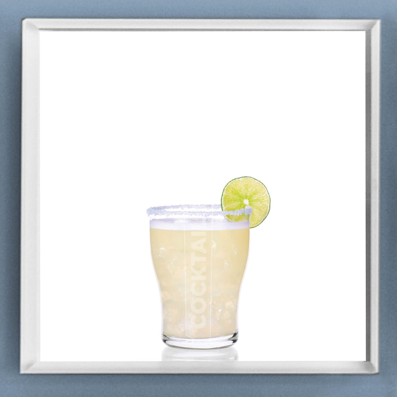 Limited Edition Cocktail Portrait: Classic Margarita framed image
