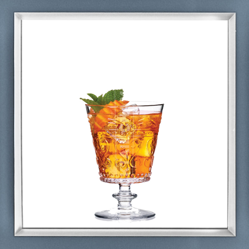 Limited Edition Cocktail Portrait: Colonial Cooler framed image