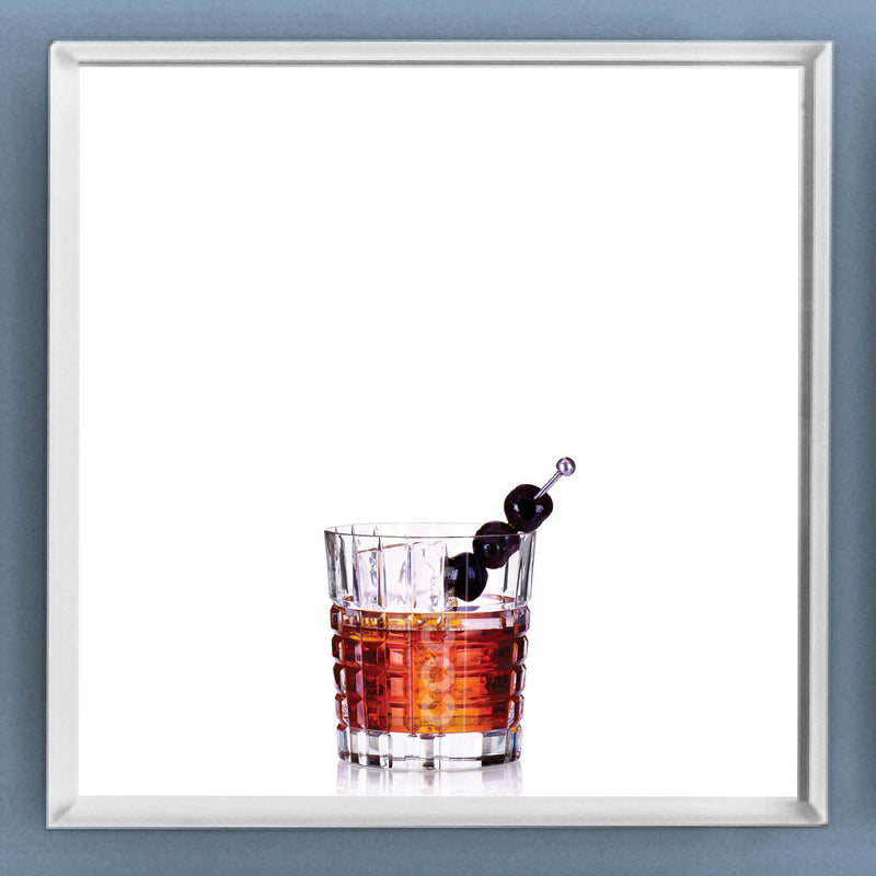 Limited Edition Cocktail Portrait: Manhattan framed image