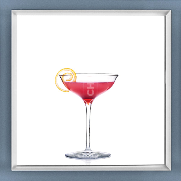 Limited Edition Cocktail Portrait: Marktini framed image