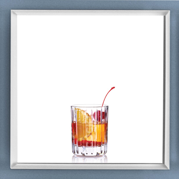 Limited Edition Cocktail Portrait: Old Fashioned framed image