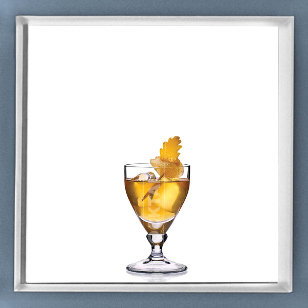 Limited Edition Cocktail Portrait: Old Pal framed image