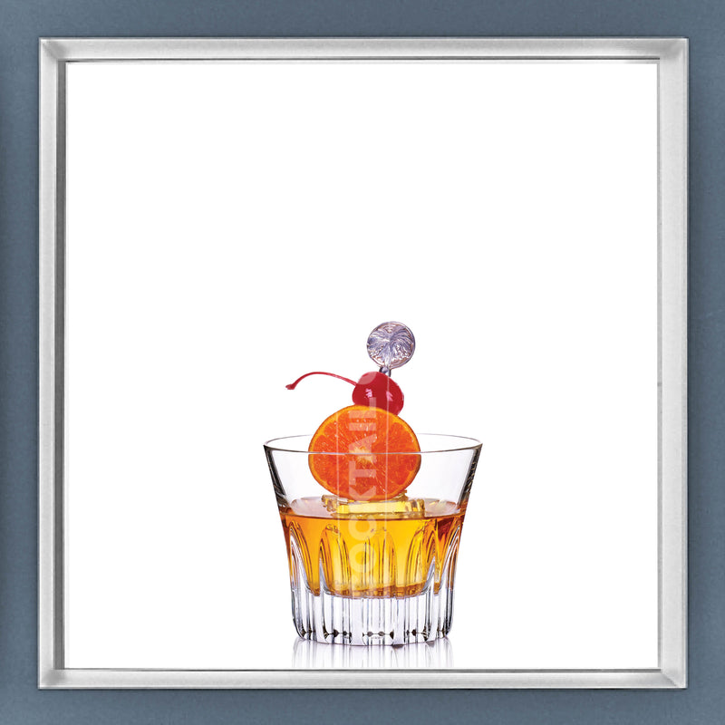 Limited Edition Cocktail Portrait: Palm Beach framed image