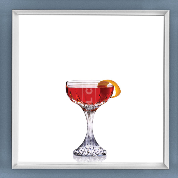 Limited Edition Cocktail Portrait: Sazarac framed image