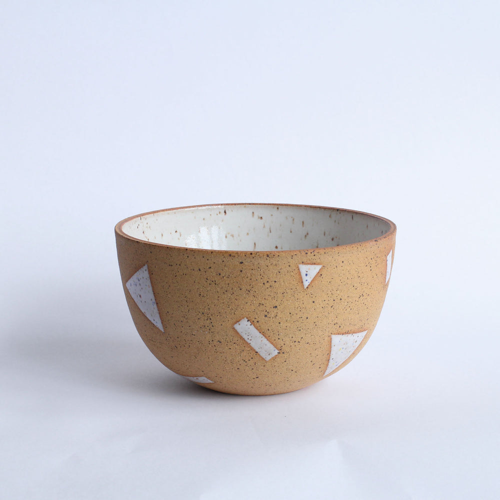 Speckle Shapes Bowl