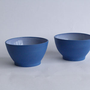 Load image into Gallery viewer, Blue Porcelain Bowl