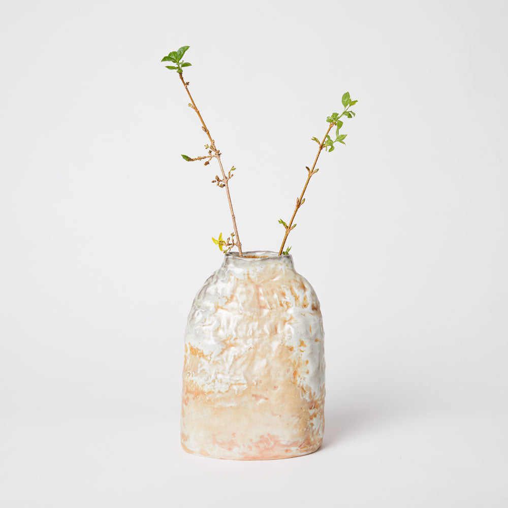 Wood Fired Porcelain Vase I