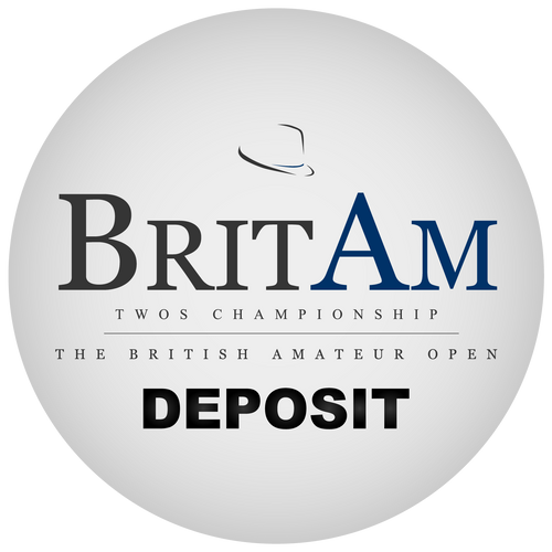 2020 BritAm Twos - Deposit (excluding clothing)