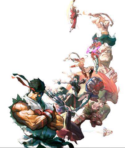 White shirt, Street fighter, Ryu, Capcom characters