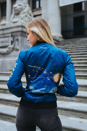 Starry Night Bomber Jacket [Available In USA & Canada]