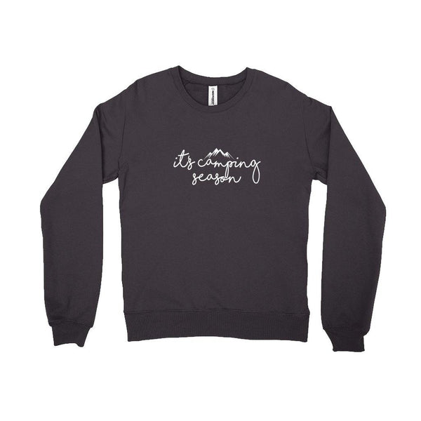 Camping Season Sweatshirt - Original Family Shop