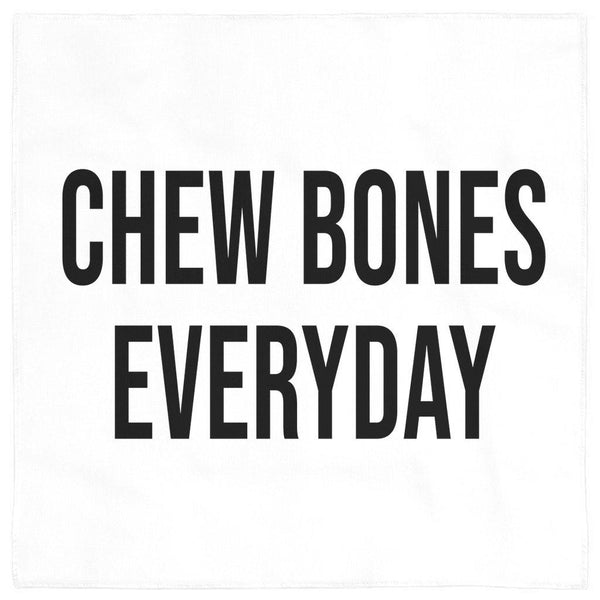 Chew Bones Everyday Dog Bandana - Original Family Shop
