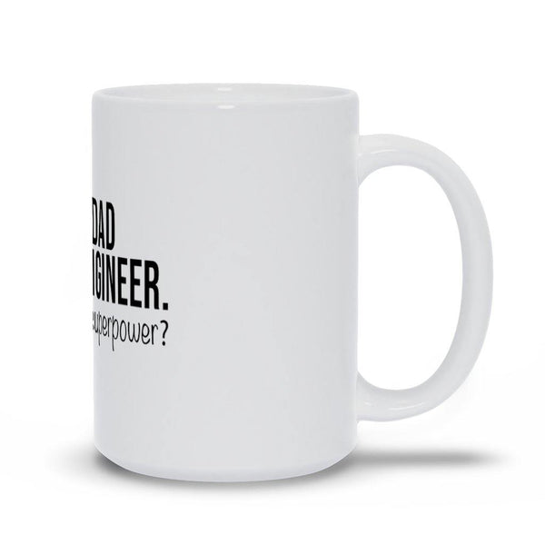 Dad And Engineer Mug - Original Family Shop