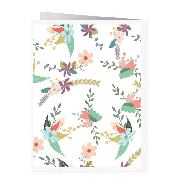 Floral Happy Mother's Day Card - Original Family Shop