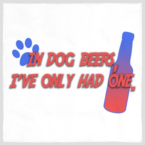 In Dog Beers Dog Bandana - Original Family Shop