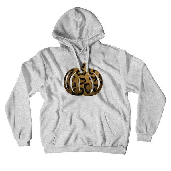 Leopard Print Pumpkin Hoodie - Original Family Shop