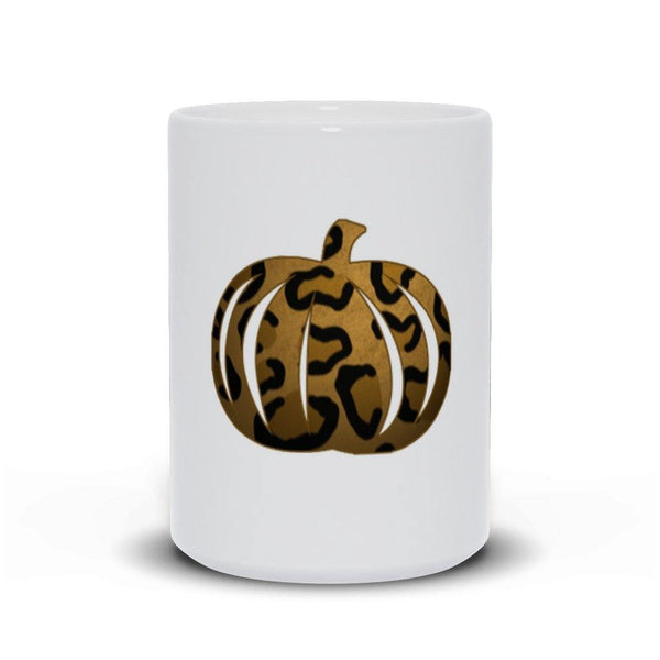 Leopard Print Pumpkin Mug - Original Family Shop