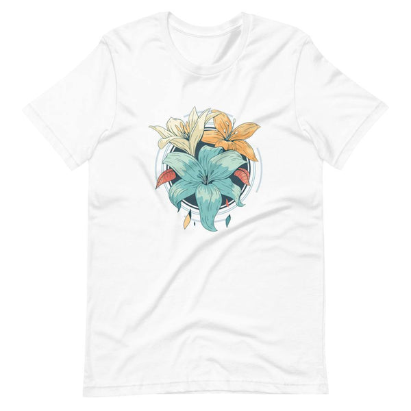 Lily Flowers T-Shirt - Original Family Shop