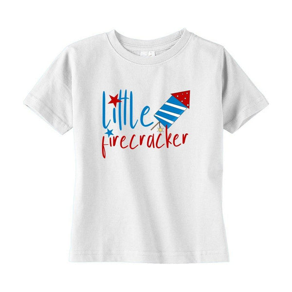 Little Firecracker Toddler Sizes T-Shirt - Original Family Shop