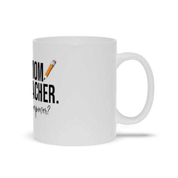 Mom And Teacher Mug - Original Family Shop