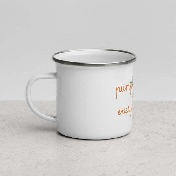 Pumpkin Spice Enamel Mug - Original Family Shop