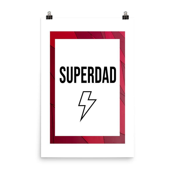 Superdad Poster - Original Family Shop