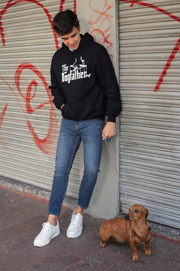 The Dogfather Hoodie - Original Family Shop