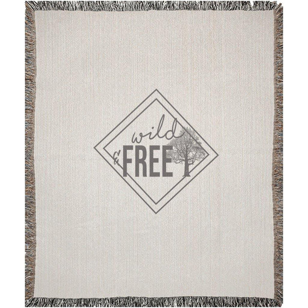 Wild & Free Woven Blanket - Original Family Shop