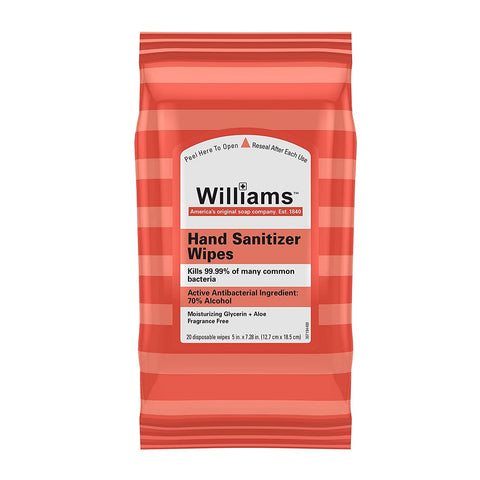 Williams Lingettes désinfectantes - 20 lingettes