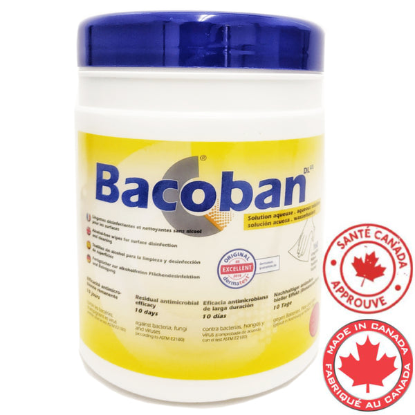 Lingettes BACOBAN désinfectants-160 lingettes-StopGerms