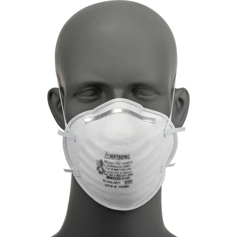 Masque N95-8200 3M Paquet de 20 Mannequin Face - StopGerms