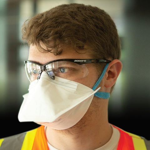 Masques R10 N95 JACKSON Paquet de 50 Face - StopGerms