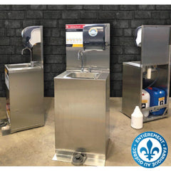 Station de lavage de mains portative - StopGerms