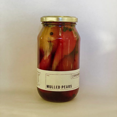 Mulled Pears