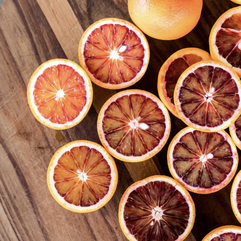 Celebrating blood oranges