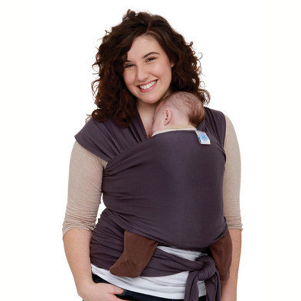 Organic Eggplant Moby Wrap Baby Boutique Sweet Giggles Organic