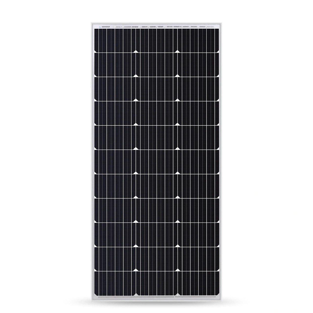 200 Watt 12 Volt Mono Crystalline Solar Power Panel Compact Design - iPower