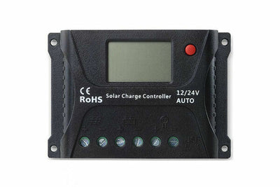SOLAR CHARGE CONTROLLER 12V 24V 40A LCD DISPLAY AUTOMATIC CHARGER REGULATOR MPPT