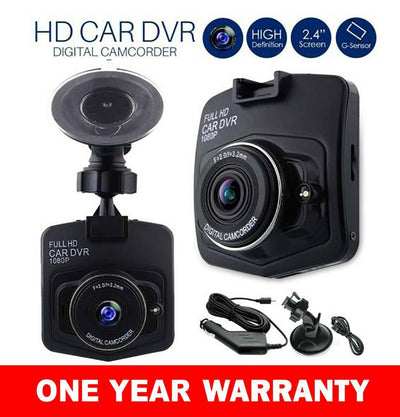 Brand New Mini 1080P HD LCD Car Dash Camera Video DVR Cam Recorder Night Vision + G-sensor - iPower