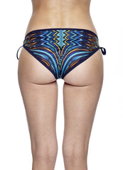 Sunset Reflection Bikini Bottom Navy