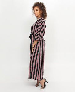 Wrap Dress - Black - Belladeem