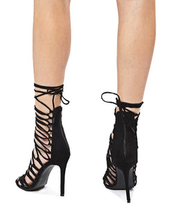 High Heel - Black - Belladeem