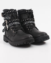 Load image into Gallery viewer, Girls Boots - Black - Belladeem