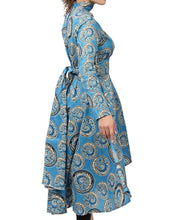 Load image into Gallery viewer, Ethnic Dress - Blue - Belladeem